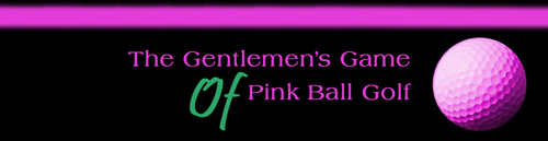 The Gentlemen's Game of Pink Ball Golf is a book by Ted Boothroyd detailing in a very sensible fashion all the reasons that and the penalties for cheating at the great game of golf.